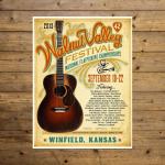 Walnut Valley Festival Poster - 2013