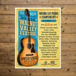 Walnut Valley Festival Poster - 2014