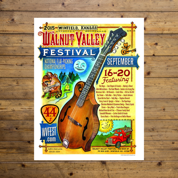 Walnut Valley Festival - 2015