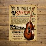 Walnut Valley Festival Poster - 2017