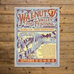 Walnut Valley Festival Poster - 2018