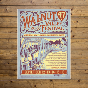 Walnut Valley Festival Poster - 2018